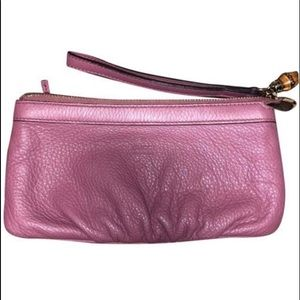Authentic Gucci leather wallet in Orchid 22381075